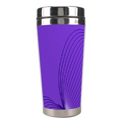 Twisted Purple Pain Signals Stainless Steel Travel Tumbler