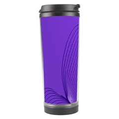 Twisted Purple Pain Signals Travel Tumbler