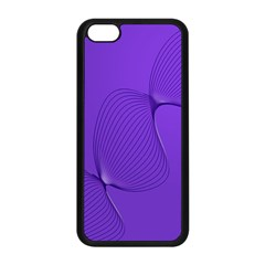 Twisted Purple Pain Signals Apple Iphone 5c Seamless Case (black)