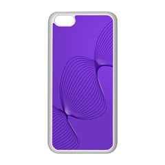 Twisted Purple Pain Signals Apple iPhone 5C Seamless Case (White)