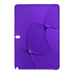 Twisted Purple Pain Signals Samsung Galaxy Tab Pro 10.1 Hardshell Case