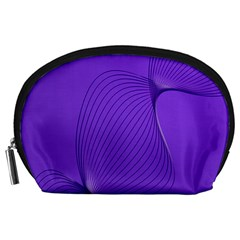 Twisted Purple Pain Signals Accessory Pouch (Large)