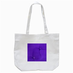 Twisted Purple Pain Signals Tote Bag (White)