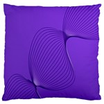 Twisted Purple Pain Signals Standard Flano Cushion Case (One Side) Front