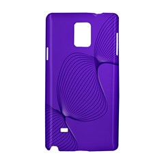 Twisted Purple Pain Signals Samsung Galaxy Note 4 Hardshell Case