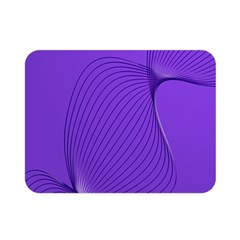 Twisted Purple Pain Signals Double Sided Flano Blanket (mini)