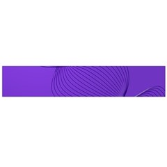 Twisted Purple Pain Signals Flano Scarf (Large)