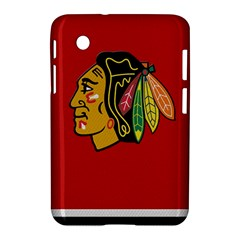 Chicago Blackhawks Jersey Textured Device Case Samsung Galaxy Tab 2 (7 ) P3100 Hardshell Case
