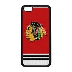Chicago Blackhawks Jersey Textured Device Case Apple iPhone 5C Seamless Case (Black)
