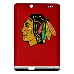 Chicago Blackhawks Jersey Textured Device Case Kindle Fire HD (2013) Hardshell Case