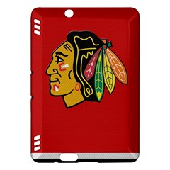 Chicago Blackhawks Jersey Textured Device Case Kindle Fire HDX Hardshell Case