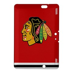 Chicago Blackhawks Jersey Textured Device Case Kindle Fire HDX 8.9  Hardshell Case