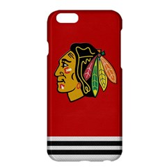 Chicago Blackhawks Jersey Textured Device Case Apple iPhone 6 Plus Hardshell Case