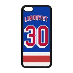 Henrik Lundqvist Jersey Style Device Case Apple iPhone 5C Seamless Case (Black)