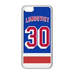 Henrik Lundqvist Jersey Style Device Case Apple Iphone 5c Seamless Case (white)