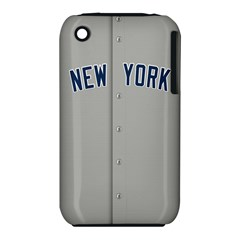 New York Yankees Jersey Case Apple iPhone 3G/3GS Hardshell Case (PC+Silicone)