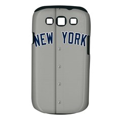 New York Yankees Jersey Case Samsung Galaxy S III Classic Hardshell Case (PC+Silicone)