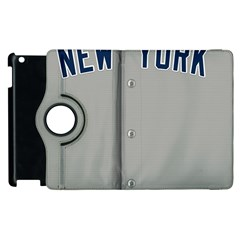 New York Yankees Jersey Case Apple iPad 2 Flip 360 Case
