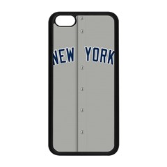 New York Yankees Jersey Case Apple iPhone 5C Seamless Case (Black)