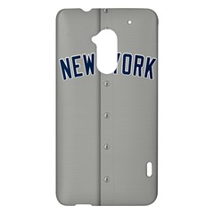 New York Yankees Jersey Case HTC One Max (T6) Hardshell Case
