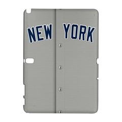 New York Yankees Jersey Case Samsung Galaxy Note 10.1 (P600) Hardshell Case