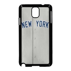 New York Yankees Jersey Case Samsung Galaxy Note 3 Neo Hardshell Case (Black)