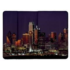 Dallas Skyline At Night Kindle Fire (1st Gen) Flip Case