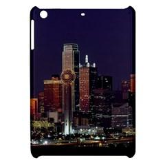 Dallas Skyline At Night Apple Ipad Mini Hardshell Case
