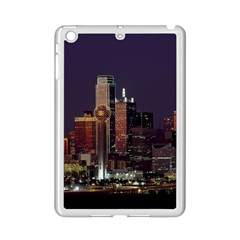 Dallas Skyline At Night Apple iPad Mini 2 Case (White)