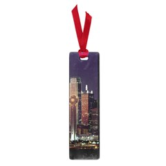 Dallas Skyline At Night Small Bookmark