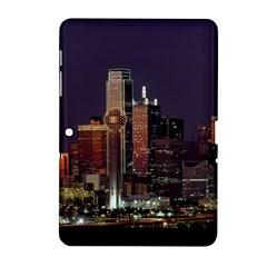 Dallas Skyline At Night Samsung Galaxy Tab 2 (10.1 ) P5100 Hardshell Case