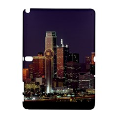 Dallas Skyline At Night Samsung Galaxy Note 10.1 (P600) Hardshell Case