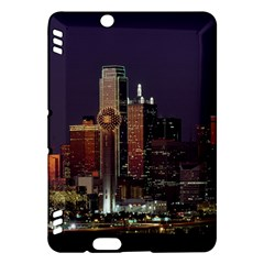 Dallas Skyline At Night Kindle Fire HDX Hardshell Case