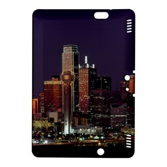 Dallas Skyline At Night Kindle Fire Hdx 8 9  Hardshell Case