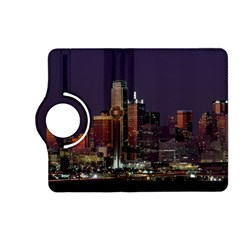 Dallas Skyline At Night Kindle Fire HD (2013) Flip 360 Case