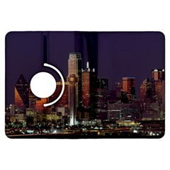 Dallas Skyline At Night Kindle Fire HDX Flip 360 Case