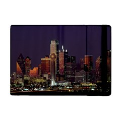 Dallas Skyline At Night Apple iPad Mini 2 Flip Case