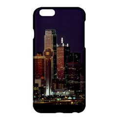 Dallas Skyline At Night Apple iPhone 6 Plus Hardshell Case