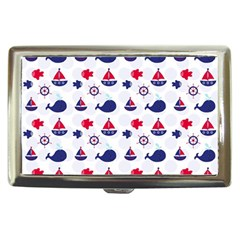 Nautical Sea Pattern Cigarette Money Case