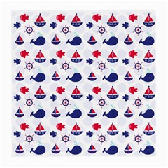 Nautical Sea Pattern Glasses Cloth (medium)