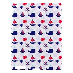 Nautical Sea Pattern Apple Ipad 3/4 Hardshell Case