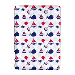 Nautical Sea Pattern Samsung Galaxy Note 10.1 (P600) Hardshell Case