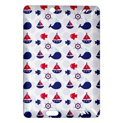 Nautical Sea Pattern Kindle Fire HD (2013) Hardshell Case