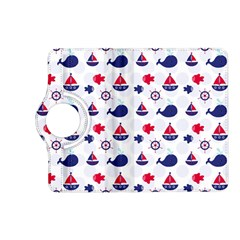 Nautical Sea Pattern Kindle Fire HD (2013) Flip 360 Case