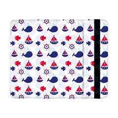 Nautical Sea Pattern Samsung Galaxy Tab Pro 8 4  Flip Case