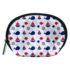 Nautical Sea Pattern Accessory Pouch (Medium)
