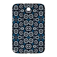 Floral Print Seamless Pattern In Cold Tones  Samsung Galaxy Note 8 0 N5100 Hardshell Case