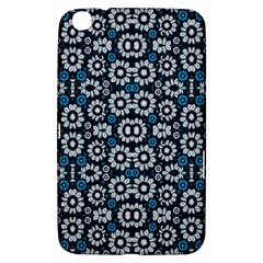 Floral Print Seamless Pattern in Cold Tones  Samsung Galaxy Tab 3 (8 ) T3100 Hardshell Case