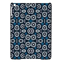 Floral Print Seamless Pattern In Cold Tones  Apple Ipad Air Hardshell Case