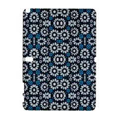 Floral Print Seamless Pattern In Cold Tones  Samsung Galaxy Note 10 1 (p600) Hardshell Case